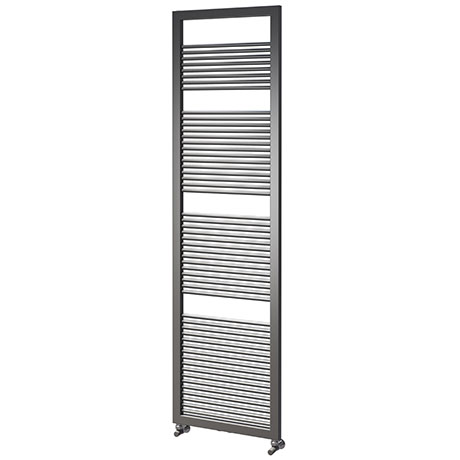 Asquiths Mineral Anthracite H1800 x W500mm Round Tube Vertical Radiator - HEA3104