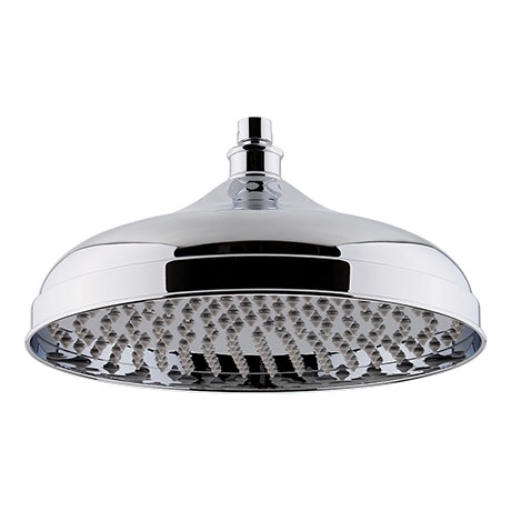 "Hudson Reed 12"" Apron Fixed Shower Head - Chrome - HEAD16"