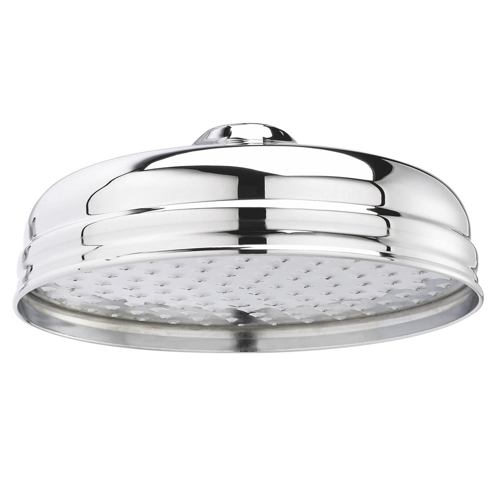 """Hudson Reed 8"""" Apron Fixed Shower Head - Chrome - HEAD21 profile large image view 1"""