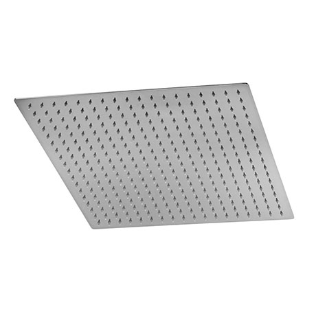 Hudson Reed 400mm Square Stainless Steel Fixed Shower Head - HEAD45
