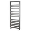 Asquiths Mineral Anthracite H1200 x W500mm Flat Tube Vertical Radiator - HEB3108 profile small image view 1