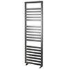 Asquiths Mineral Anthracite H1600 x W500mm Flat Tube Vertical Radiator - HEB3110 profile small image view 1