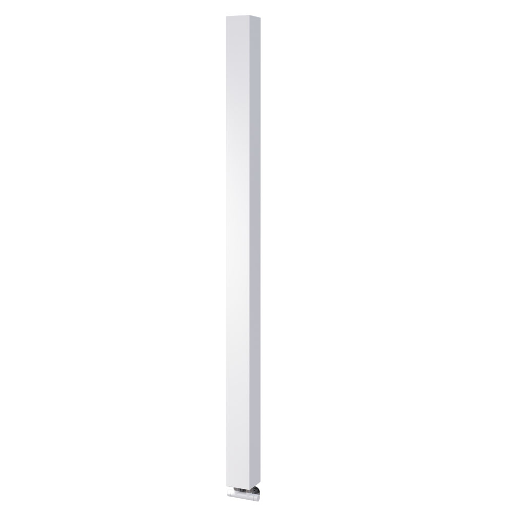 Asquiths Mineral White H1800mm x W100mm Single Panel Radiator - HEC0115