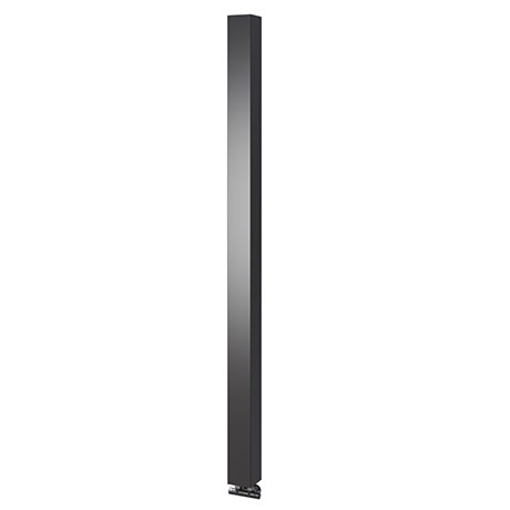 Asquiths Mineral Anthracite H1800mm x W100mm Single Panel Radiator - HEC3116