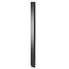 Asquiths Mineral Anthracite H1800mm x W100mm Single Panel Radiator - HEC3116 profile small image view 1