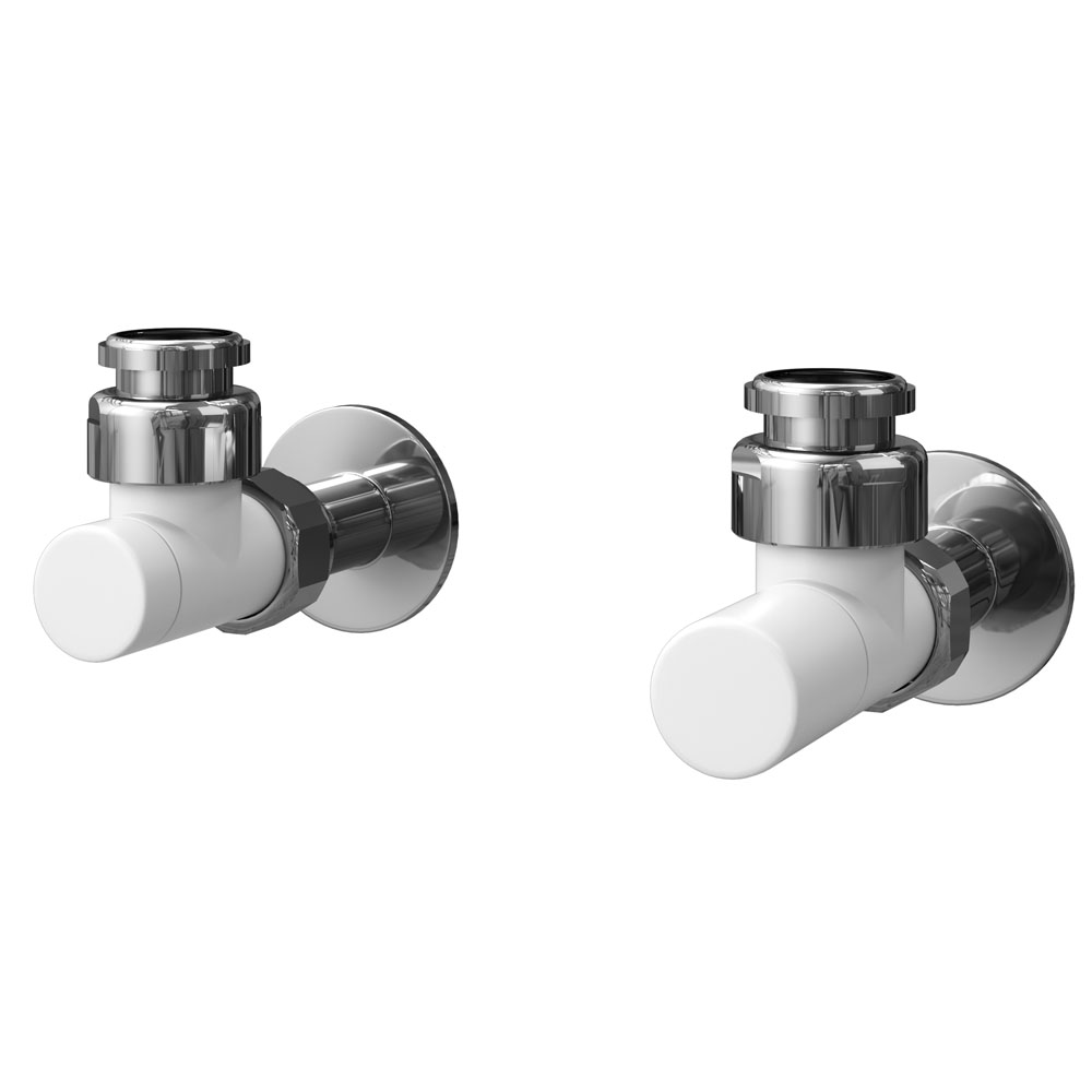 Asquiths Mineral White Standard Manual Valves - HED0125