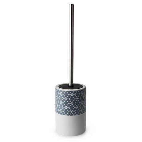 Helix Freestanding Toilet Brush & Holder