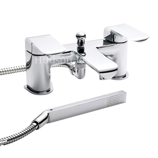 Hudson Reed - Hero Bath/Shower Mixer with Shower Kit and Wall Bracket - HER304 Large Image
