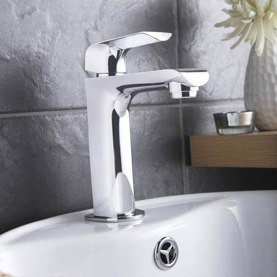 Hudson Reed - Hero Mono Basin Mixer without Waste - HER315 profile large image view 2