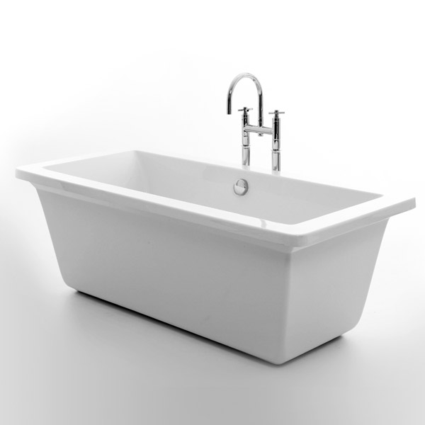 Royce Morgan Hexham 1690 Luxury Freestanding Bath with Waste profile large image view 1