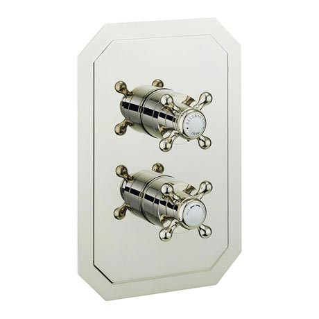 Crosswater - Belgravia Crosshead Thermostatic Shower Valve - Nickel