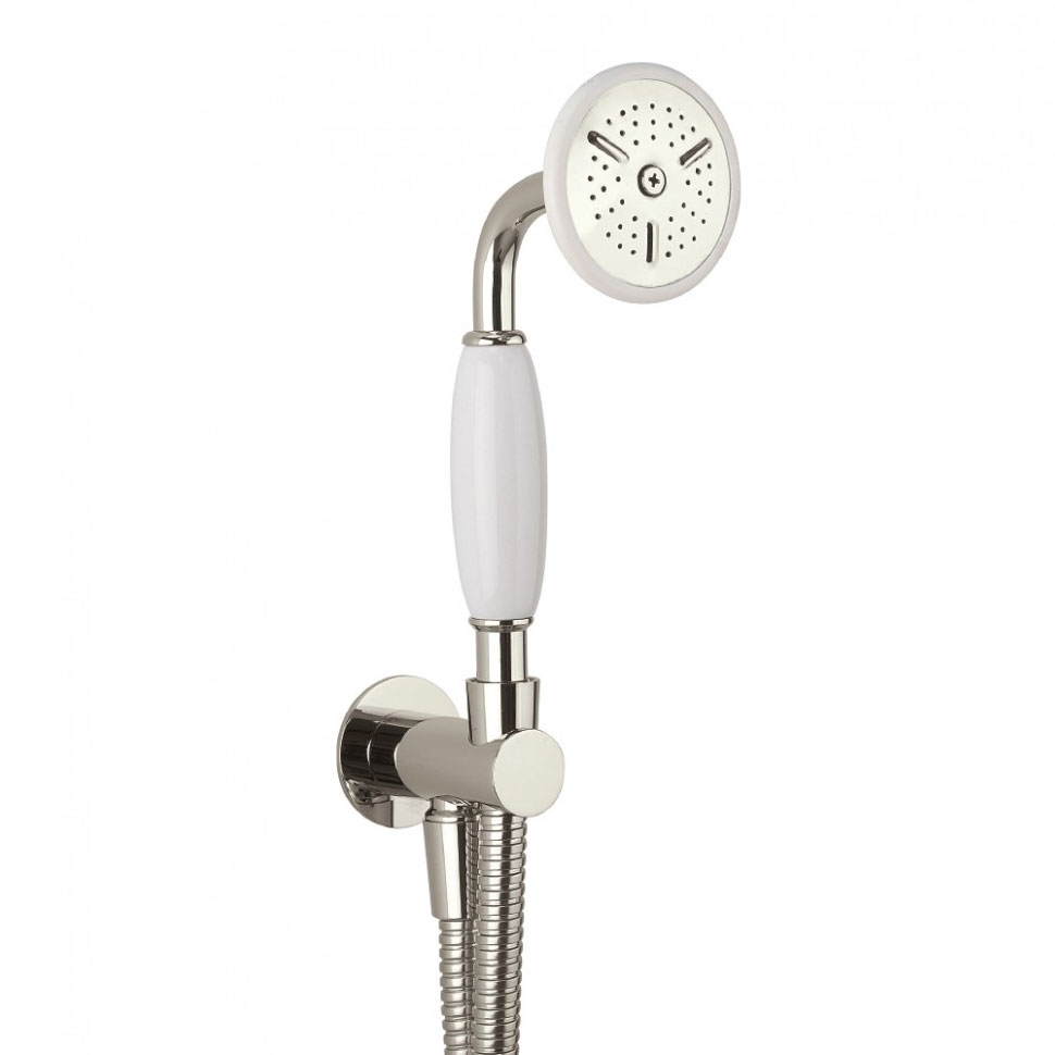 Crosswater - Belgravia Wall Mounted Shower Kit - Nickel - HG964N profile large image view 1