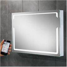 HIB - Pulse Bluetooth LED Mirror - H600 x W800 x D70mm - 77415000 Medium Image