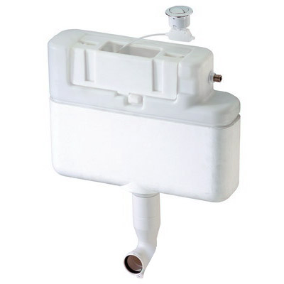 RAK Compact Insulated Concealed Dual Flush Cistern - HIDCIST Large Image