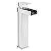 Plaza Waterfall High Rise Mono Basin Mixer Tap Medium Image