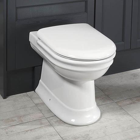 Silverdale Hillingdon Back To Wall BTW Toilet + Soft Close Seat