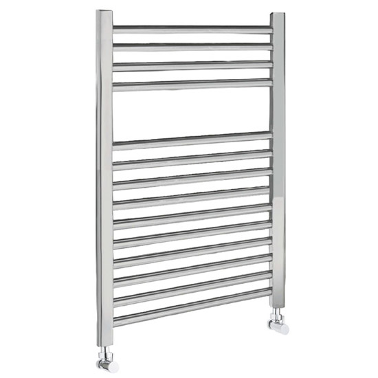 Straight Ladder Towel Rail 500 x 700mm - Chrome - Ex Display profile large image view 1