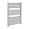 Nuie 700 x 500mm Chrome Straight Ladder Rail - HK381 profile small image view 1