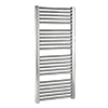 Nuie Straight Ladder Heated Towel Rail 1100 x 500mm - Chrome - HK382 profile small image view 1