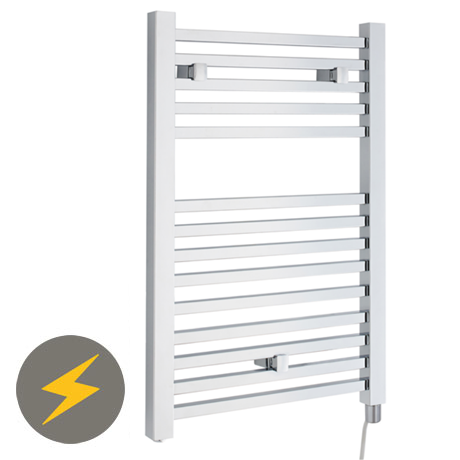 Hudson Reed Electric Only Square Heated Towel Rail - Chrome - HL150