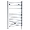 Hudson Reed 690 x 500mm Electric Square Heated Towel Rail - Chrome - HL150 profile small image view 1