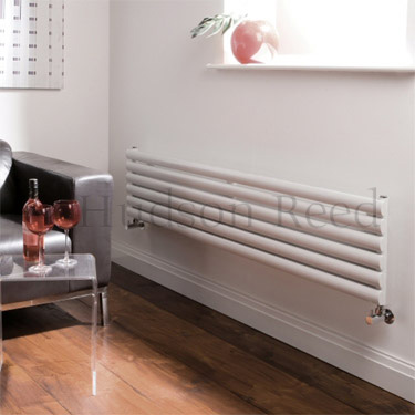 Hudson Reed Revive Horizontal Radiator Brackets - White - HL220 profile large image view 2