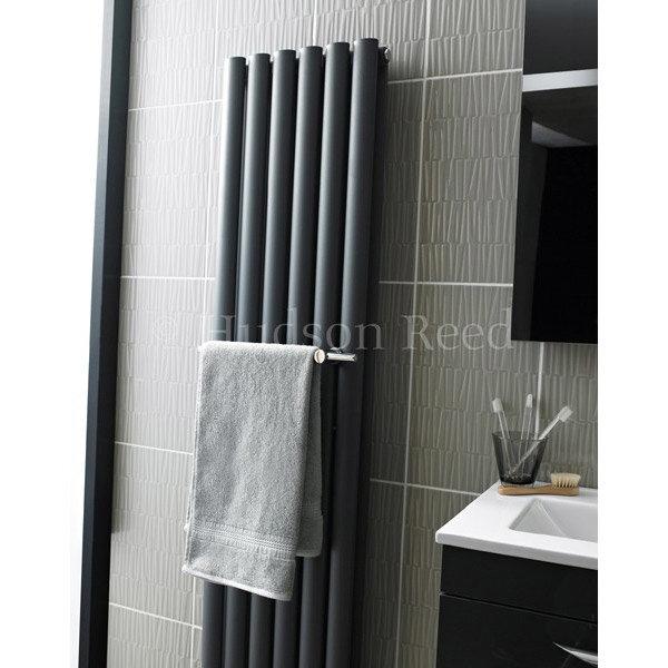 Hudson Reed - Towel Rail for Revive Radiators - Chrome - HL318 profile large image view 2