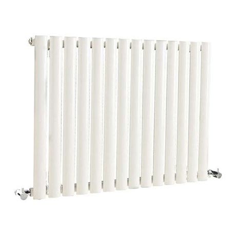 Hudson Reed Revive Small Single Panel Designer Radiator - White - HL324