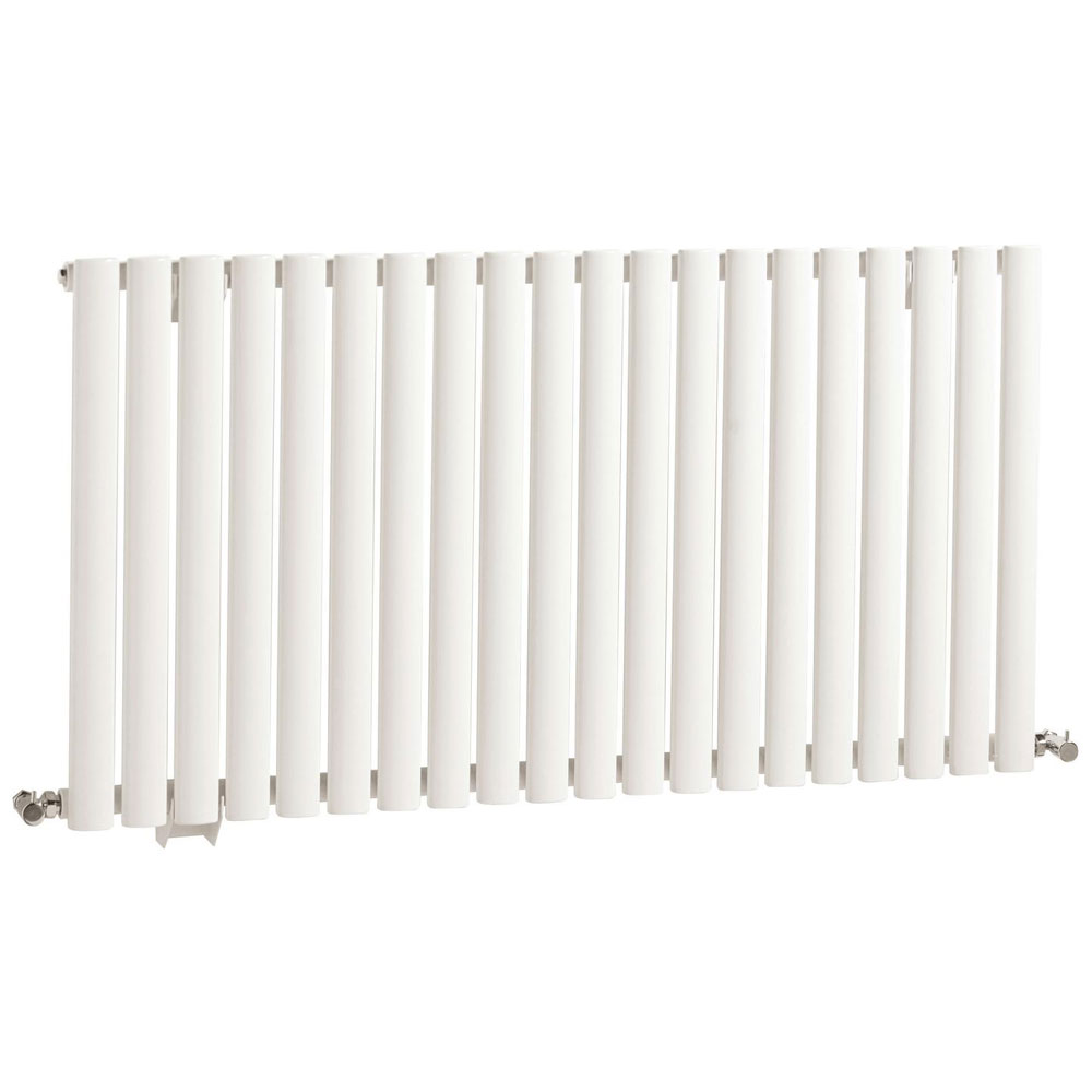 Hudson Reed Revive Large Single Panel Designer Radiator - White - HL325 Large Image