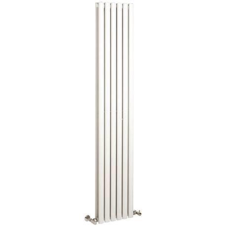 Hudson Reed Revive Vertical Double Panel Designer Radiator - White - HL326