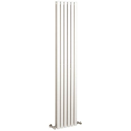 Hudson Reed Revive Vertical Double Panel Designer Radiator - White - HL326