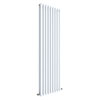 Hudson Reed Revive 1800 x 528mm Vertical Double Panel Radiator - Gloss White - HL327 profile small image view 1