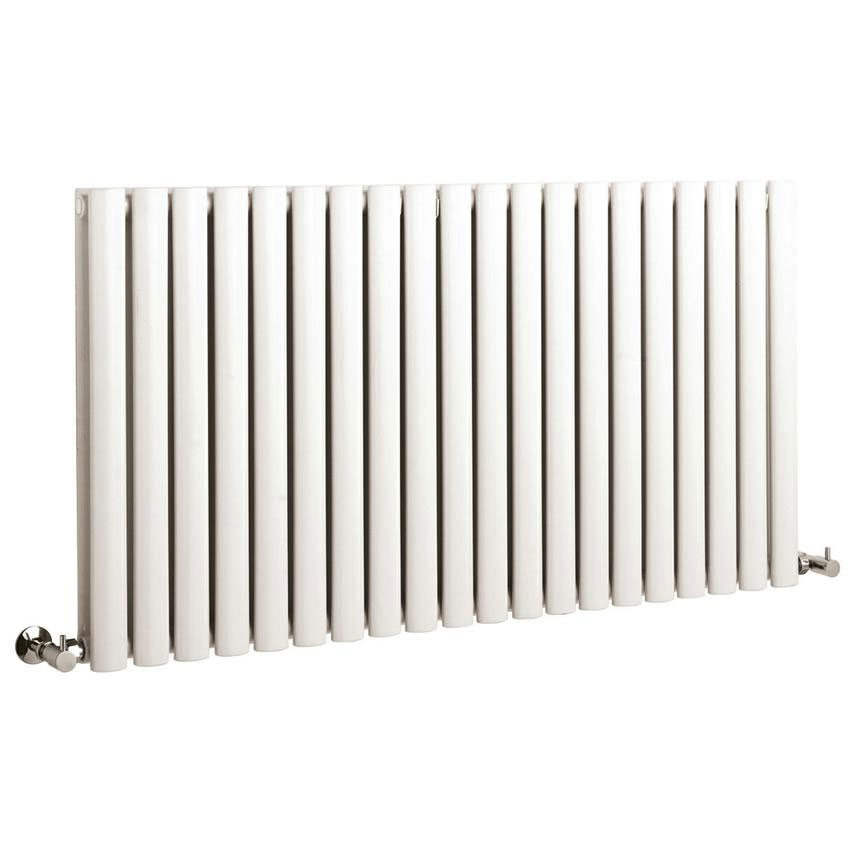 Hudson Reed Revive Large Double Panel Designer Radiator - White - HL329 Large Image