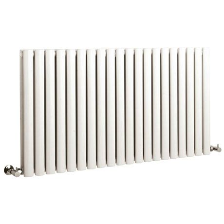 Hudson Reed Revive Large Double Panel Designer Radiator - White - HL329