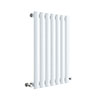 Hudson Reed Revive 600 x 412mm Horizontal Single Panel Radiator - Gloss White - HL337 profile small image view 1