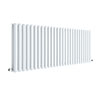 Hudson Reed Revive 600 x 1572mm Horizontal Double Panel Radiator - Gloss White - HL342D profile small image view 1