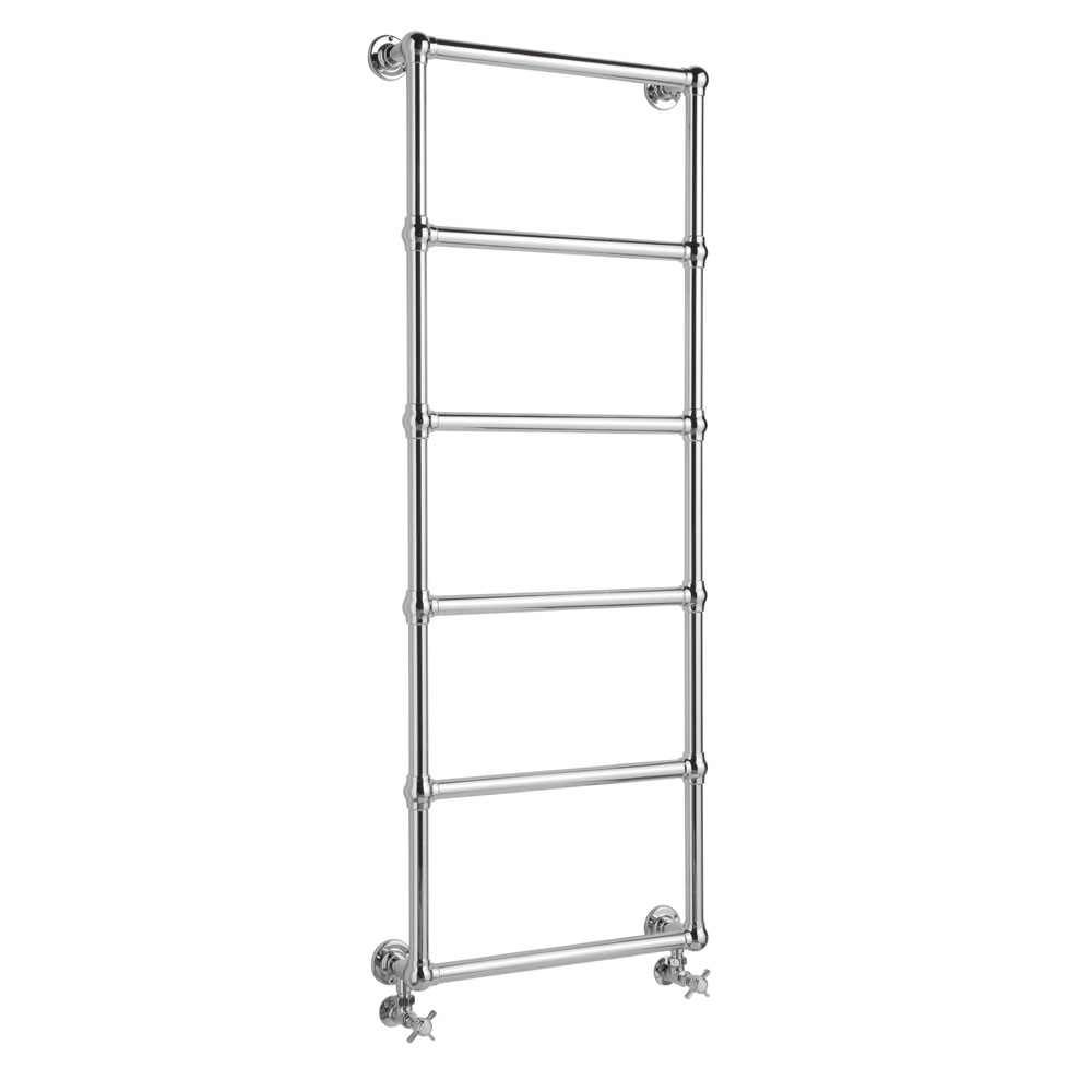 Hudson Reed Countess Wall Mounted Towel Rail 1550 x 600mm - Chrome - HL354 Large Image