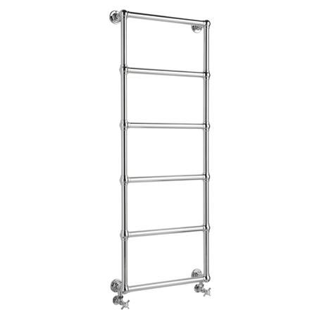 Hudson Reed Countess Wall Mounted Towel Rail 1550 x 600mm - Chrome - HL354