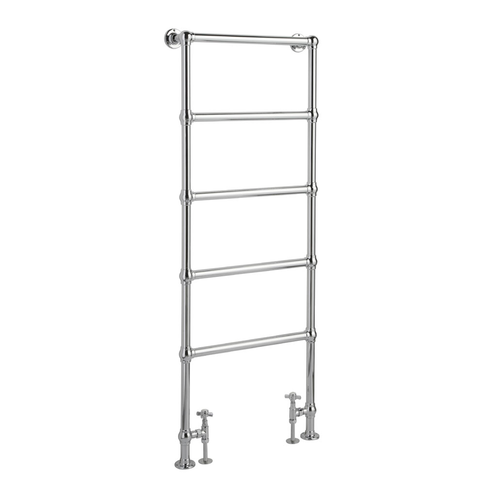 Hudson Reed Countess Floor Mounted Towel Rail 1550 x 600mm - Chrome - HL355 Large Image