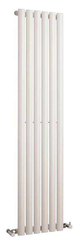 Hudson Reed Revive Vertical Single Panel Designer Radiator 1500 x 354mm - White Large Image