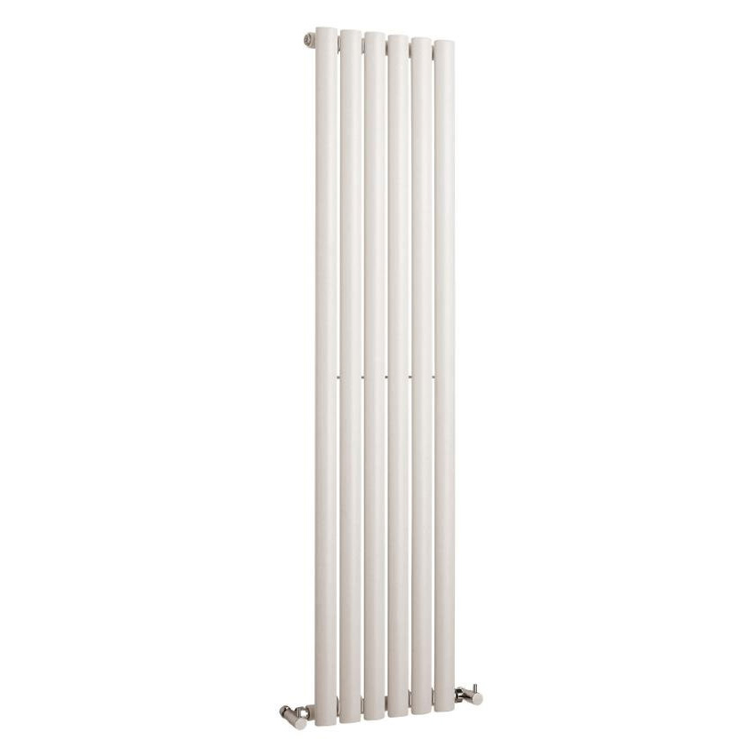 Hudson Reed Revive Vertical Single Panel Designer Radiator 1500 x 354mm - White Large Image