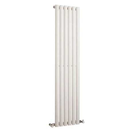 Hudson Reed Revive Vertical Single Panel Designer Radiator 1500 x 354mm - White