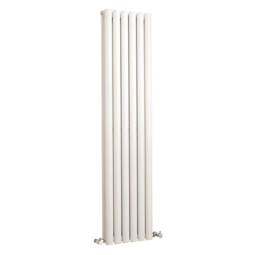 Hudson Reed Revive Vertical Double Panel Designer Radiator 1500 x 354mm - White