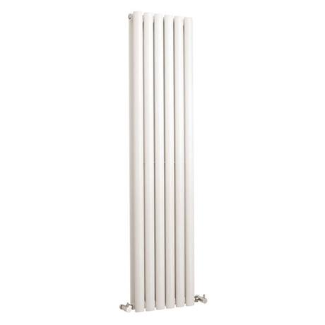 Hudson Reed Revive Vertical Double Panel Designer Radiator 1500 x 354mm - White