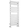 Hudson Reed Piazza 11 Bar Heated Towel Rail 1200 x 500mm - Chrome - HL396 profile small image view 1