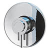 MX Options Petite Concealed/Exposed Thermostatic Concentric Mixer Valve - HL8 profile small image view 1