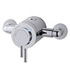 MX Options Petite Exposed Thermostatic Concentric Mixer Valve - HL8 profile small image view 1