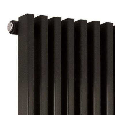 Hudson Reed Parallel Single Panel Designer Radiator - 1800 x 342mm Profile Large Image