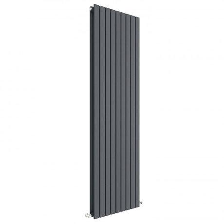 Hudson Reed Sloane 1800 x 528mm Vertical Double Panel Radiator - Anthracite - HLA47D