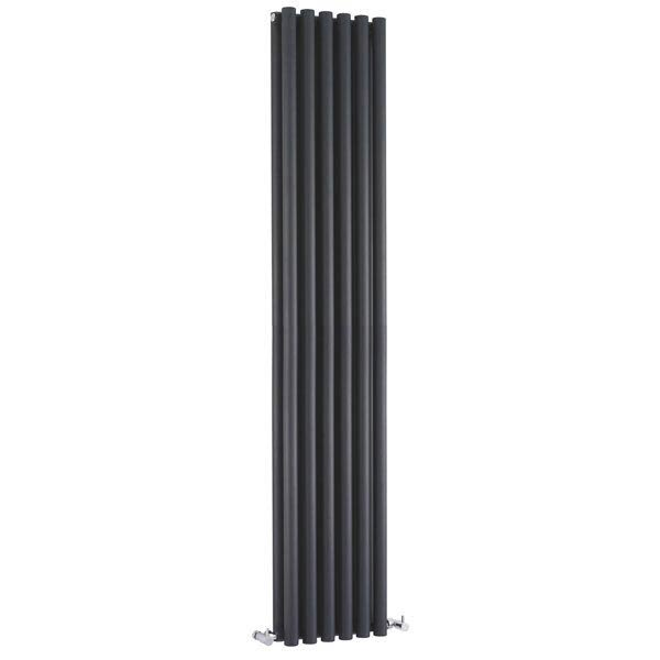Hudson Reed Savy Double Panel Designer Radiator - 1800 x 354mm Large Image